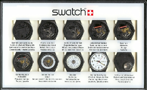 Swatch Store Production Stage Display Box